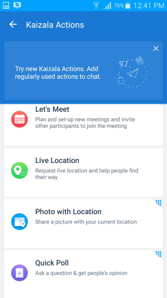 Free Mobile Chat App from Microsoft