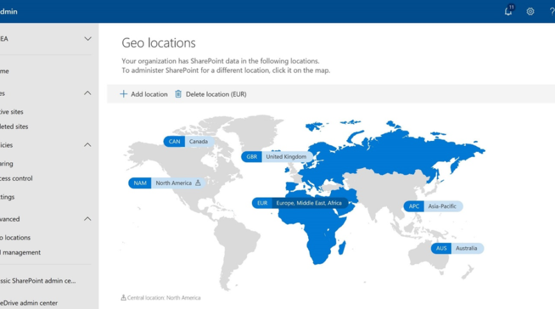 General Availability of Multi-Geo Capabilities in SharePoint