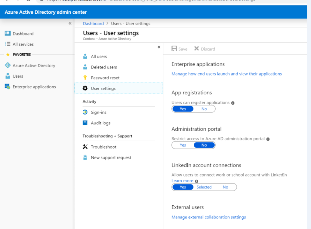 Connect LinkedIn with Office 365
