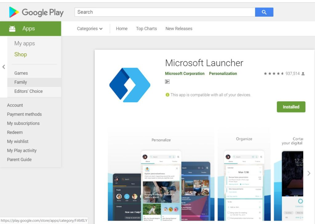 Continue working on your Android phone using Microsoft