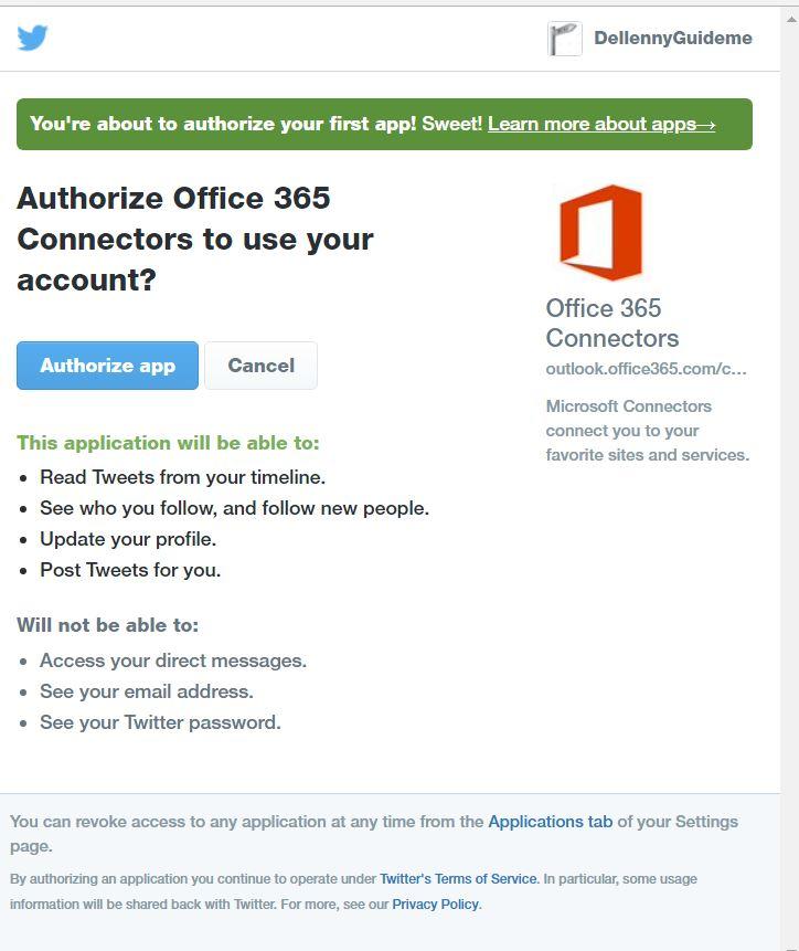 Get Tweets in Microsoft Teams